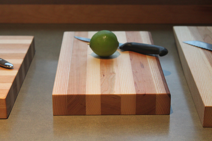 New cutting boards for 2014 - available in various sizes and built to size