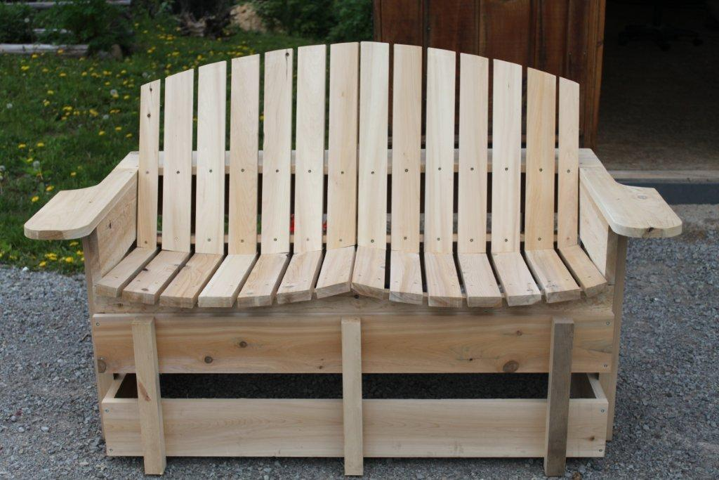 For those of us that are tired of the same old Muskoka chairs - Can you say comfort?