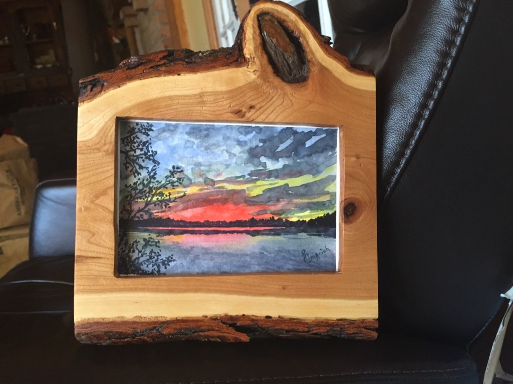 Live Edge Picture frames