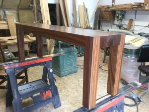 Solid Black Walnut Bench