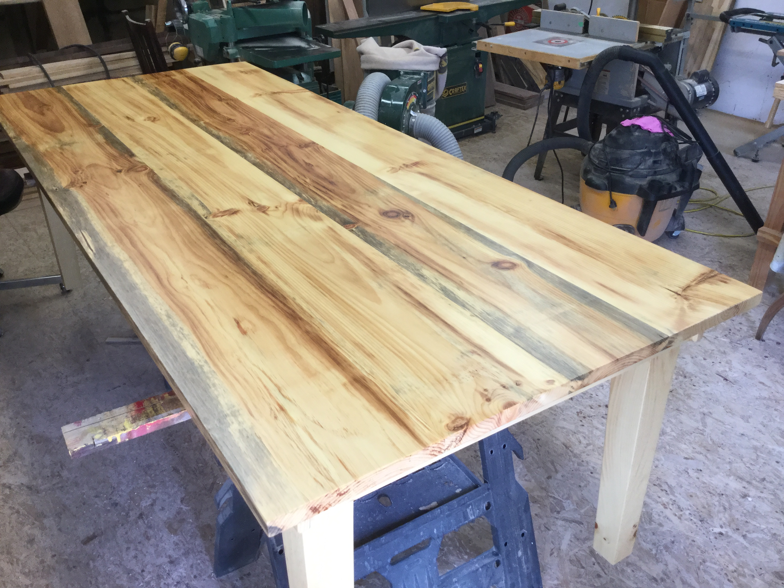 8' Pine Table