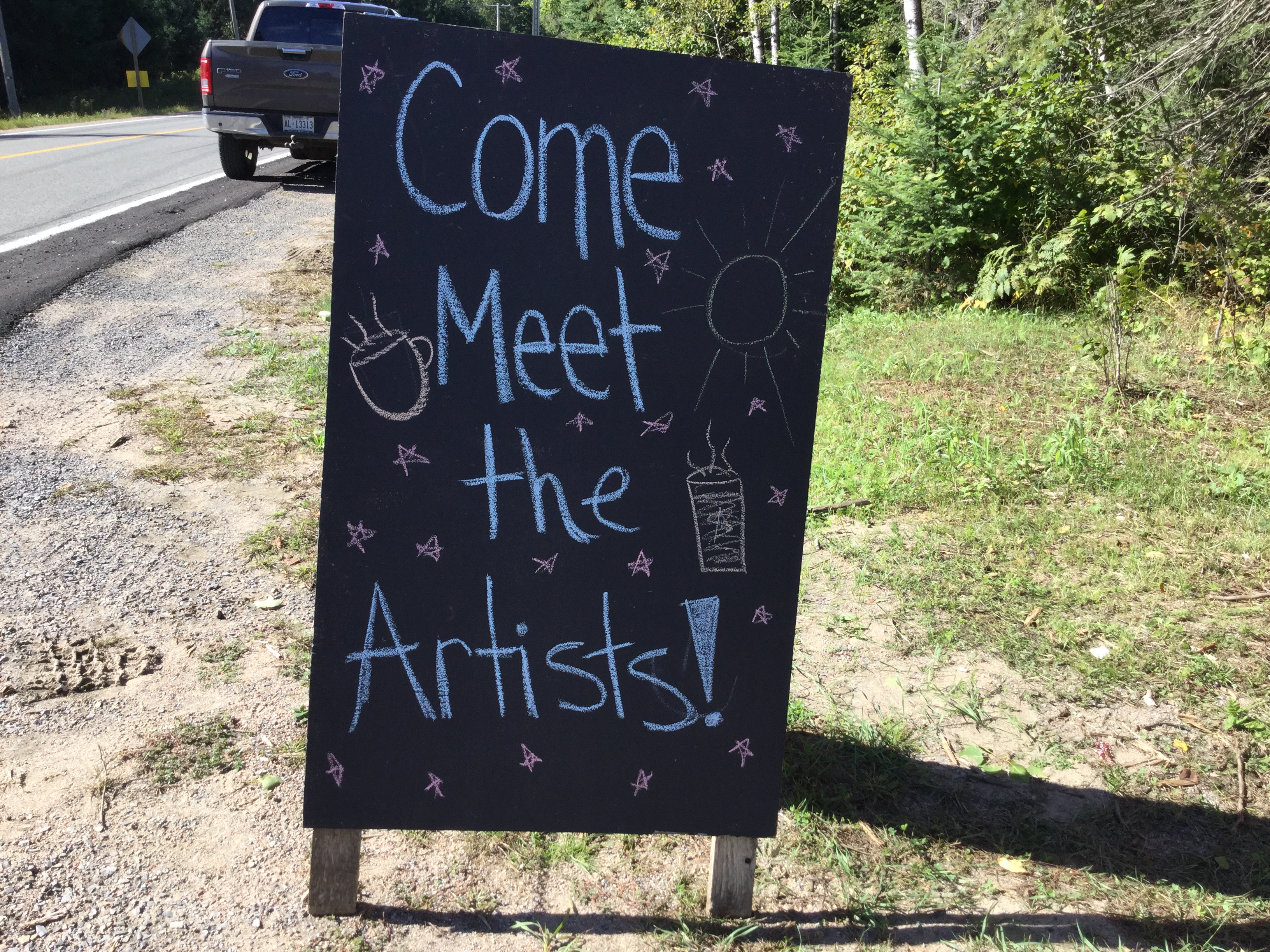 Meet the Artists Day at THWW