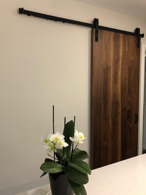 Barn Door in Walnut
