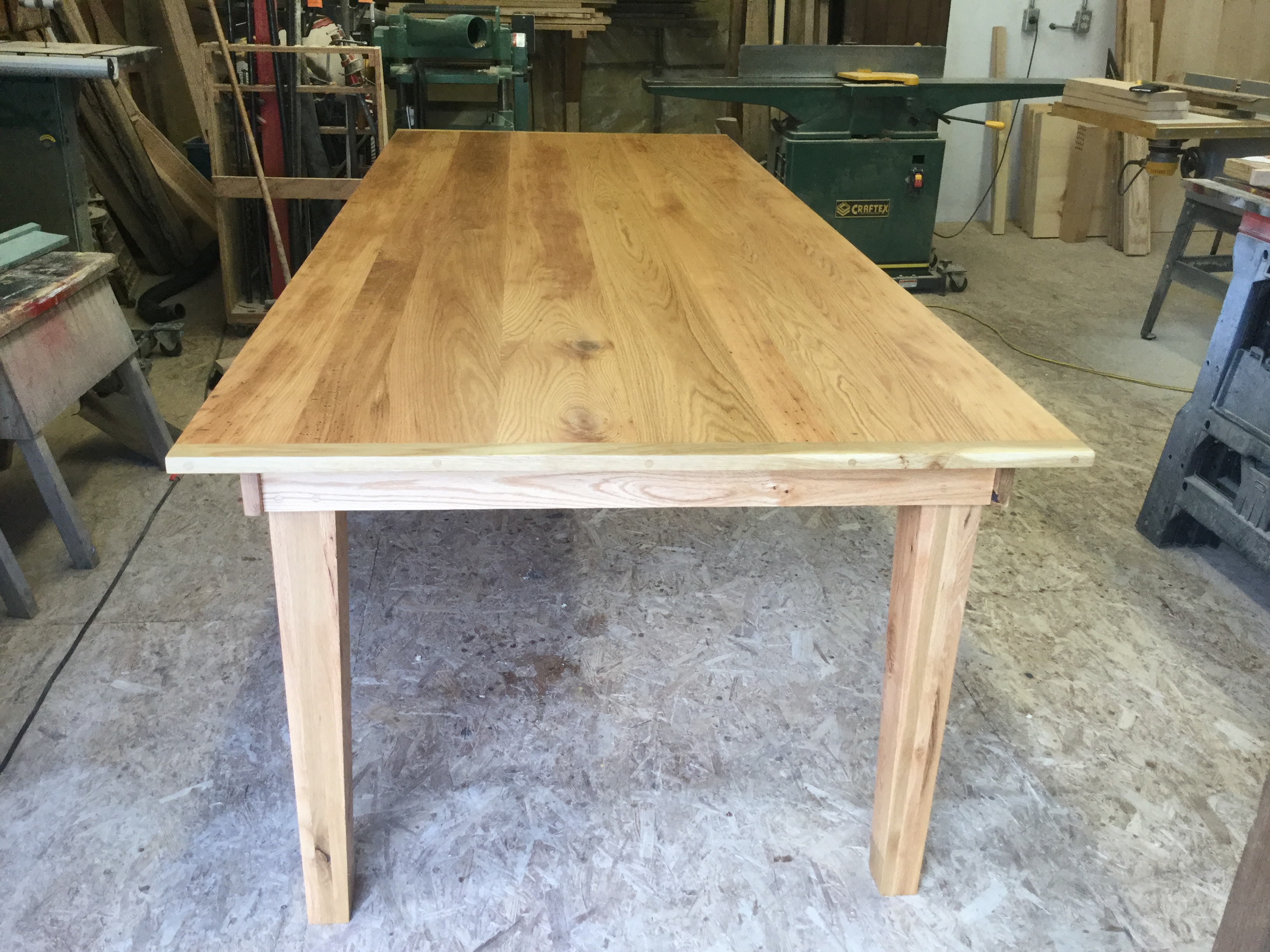 Solid Wood Harvest Table