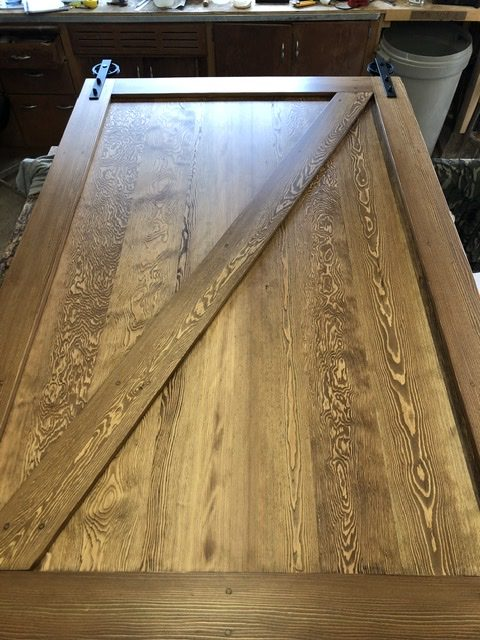 Custom Douglas Fir Barn Door